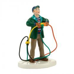 Fire It Up Dad! Figurine
