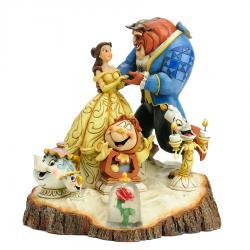 Disney's Beauty and the Beast Carved by Heart Figurine by Jim Shore