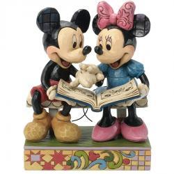 Disney's Mickey and Minnie Looking Photos Figurine by Jim Shore