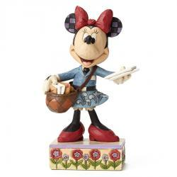 Disney's Minnie Special Delivery Figurine by Jim Shore