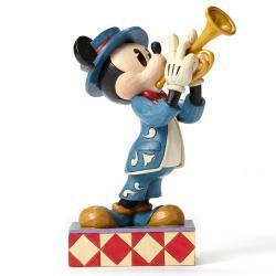 Disney's Mickey Mouse Bugle Boy Figurine by Jim Shore