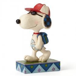 Peanuts Snoopy Back To School Joe Cool Figurine