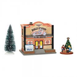 Harley Davidson Clubhouse Box Set by Department 56