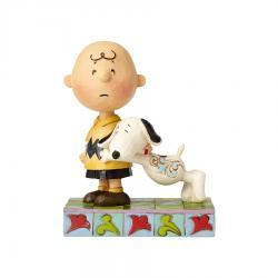 Snoopy with Charlie Brown Figurine