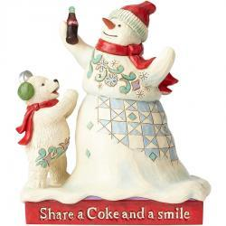 Share a Coke and a Smile Figurine