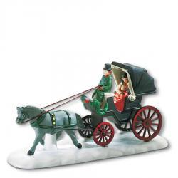 Central Park Carriage Figurine