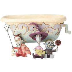 The Nightmare Before Christmas Lock Shock Barrel Bowl Figurine by Jim Shore