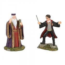 Harry Potter Harry And The Headmaster Figurine by Department 56