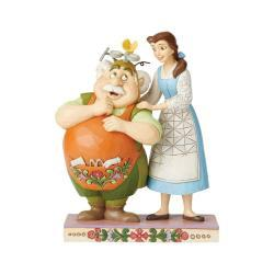 Disney's Belle and Maurice the Inventor Figurine
