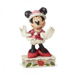 Minnie Christmas Personality Figurine