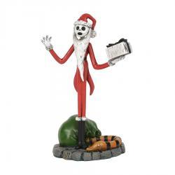 The Nightmare Before Christmas Jack Steals Christmas Figurine