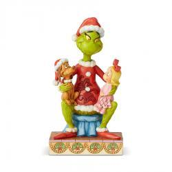 Grinch With Cindy And Max Figurine