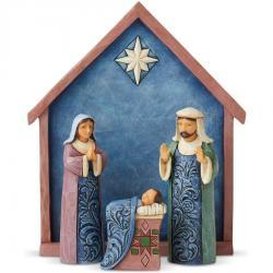 4-Piece Mini Nativity Set by Jim Shore