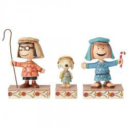 Peanuts Christmas Pageant Set #3 Figurines