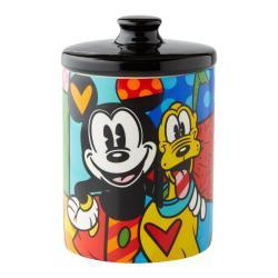 Disney's Mickey and Pluto Cookie Jar by Romero Britto