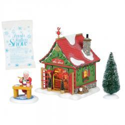 Mrs. Claus's She Shed