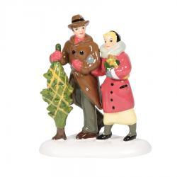 Bringing Home Christmas Figurine by Department 56