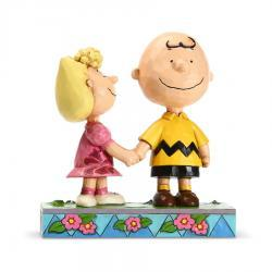 Peanuts Charlie Brown and Sally Figurine