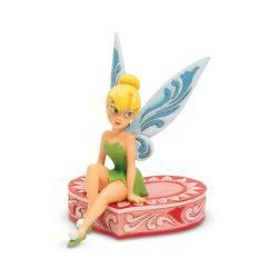 Disney's Tink Sitting on Heart Figurine