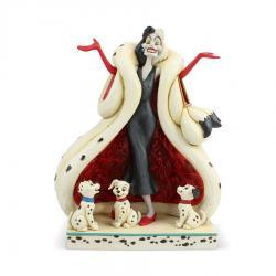 Disney's 101 Dalmatians Cruella DeVil Figurine by Jim Shore