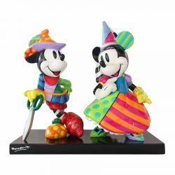 Disney's Mickey and Minnie Mouse (Limited Edition) Figurine by Romero Britto