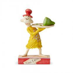Dr. Seuss Sam Green Eggs and Ham Figurine by Jim Shore