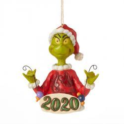 Grinch 2020 Dated Ornament By Jim Shore