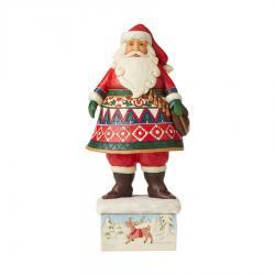 Lapland Santa on Base Figurine by Jim Shore