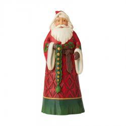 Santa With Jingle Bells Figurine by Jim Shore