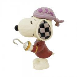 Peanuts Mini Snoopy Pirate Figurine