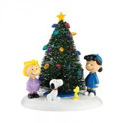 Peanuts O'Christmas Tree Figurine